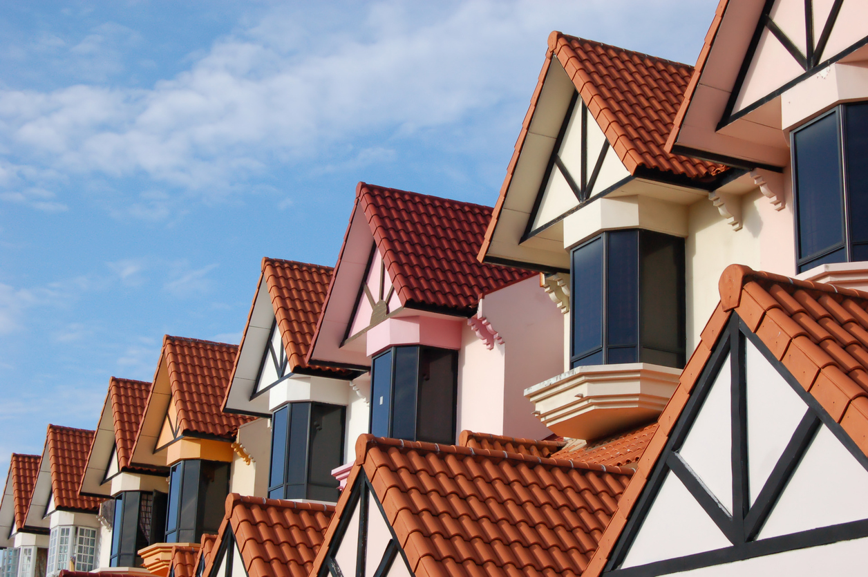 rooftops of landed houses in singapore
