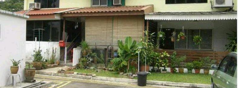 Terrace HDB flats in Singapore