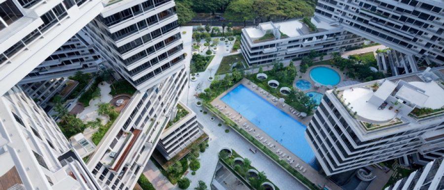 Award winning condo, Interlace in Singapore