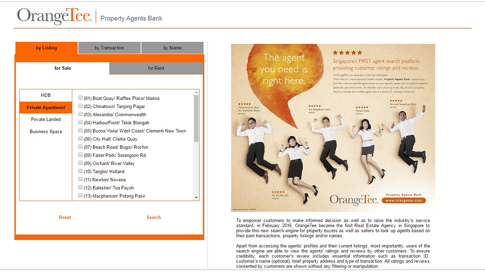 real estate agents orangetee