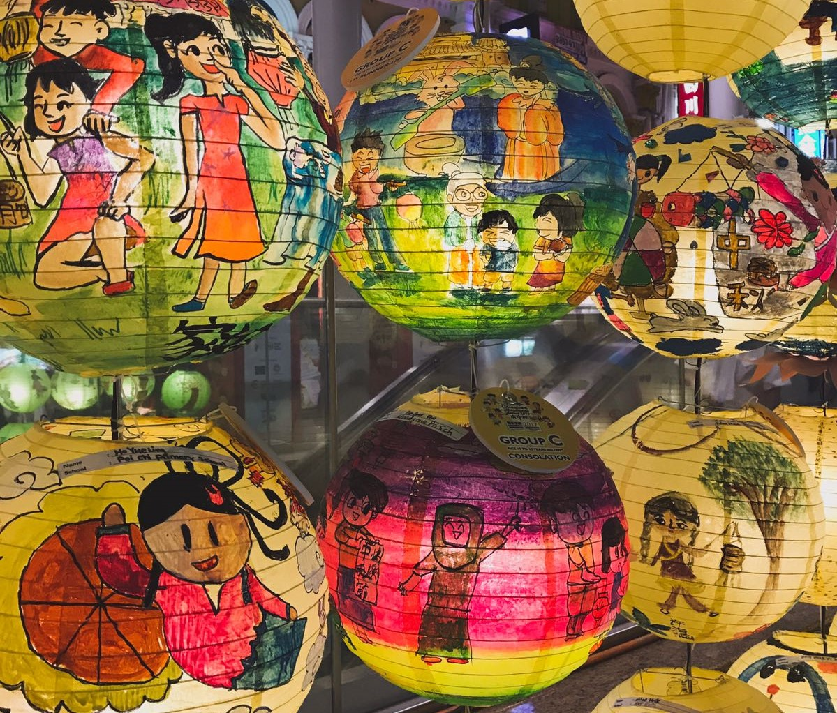 lunar month lanterns