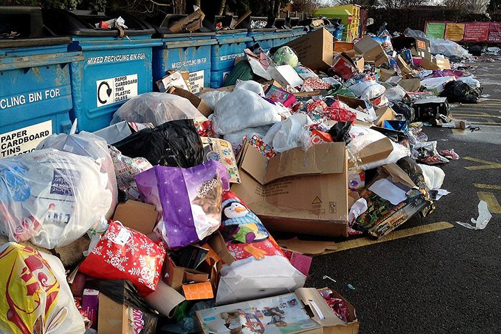 Condo MCST rubbish dump