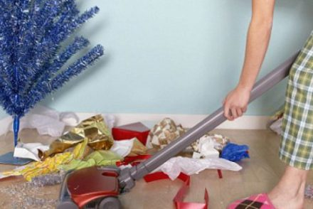 christmas cleaning hacks