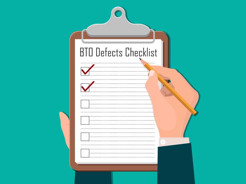 hdb bto checklist defects