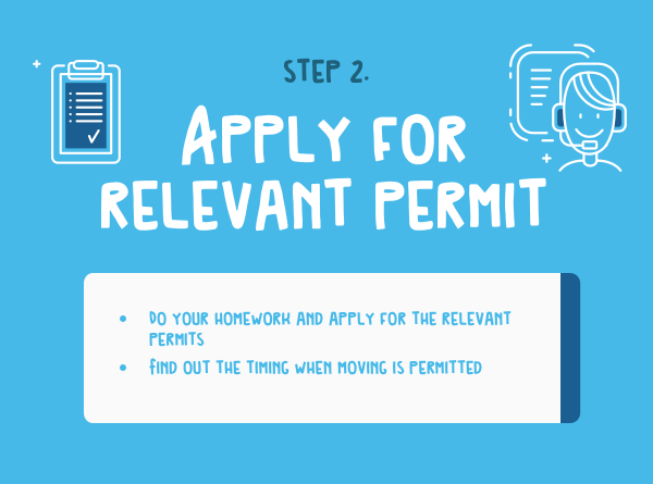 Apply for relevant permit