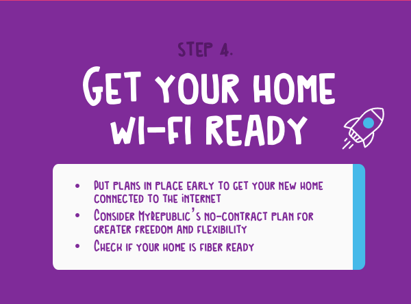 Get ready home wifi