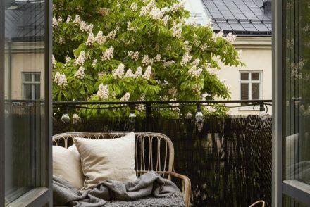 balcony relax home