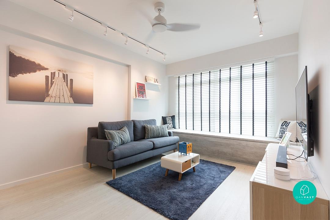 4-Room HDB Designs That Aren\'t Your Cookie-Cutter Home - 99.co