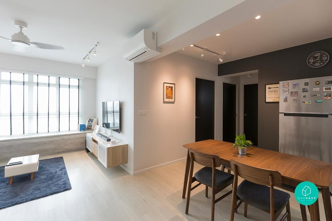 4 Room Hdb Designs That Aren T Your Cookie Cutter Home 99 Co