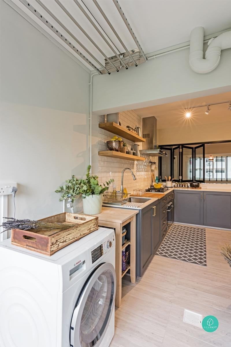 Virtual Kitchen Design Hdb Singapore: How To Make Better Use Of Your Home's Service Yard