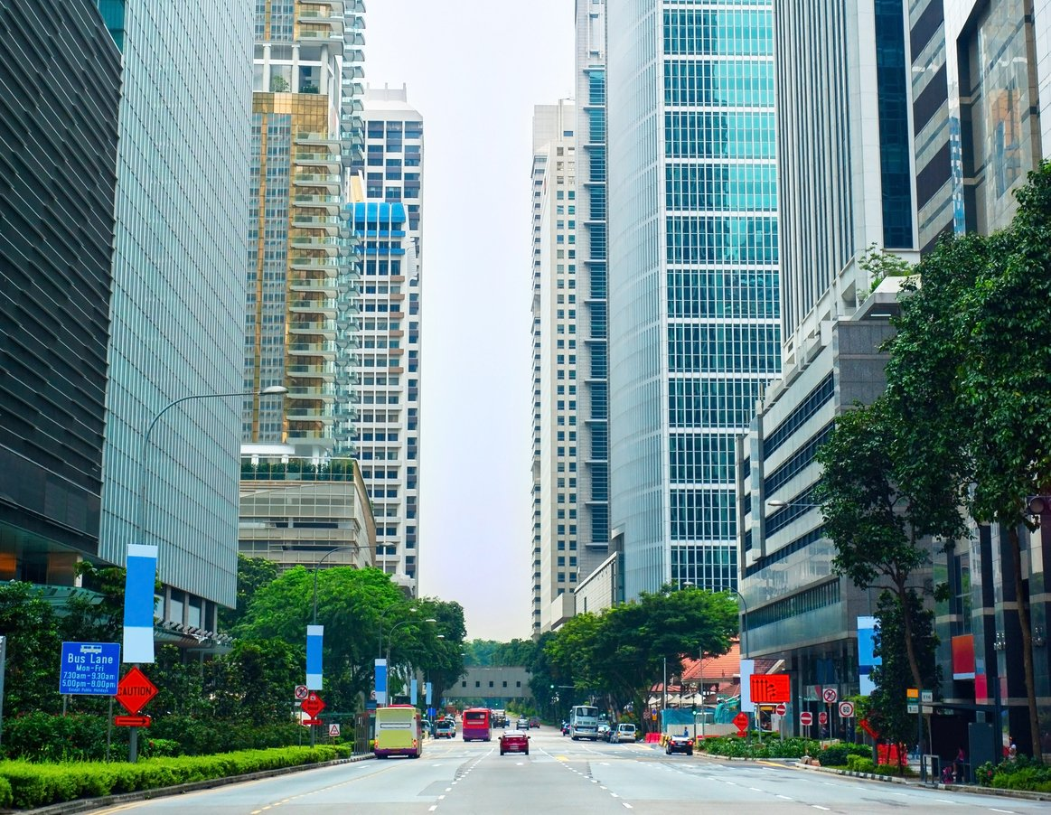 Tanjong Pagar CBD Downtown Singapore