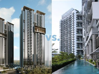 new launch resale condo investment property