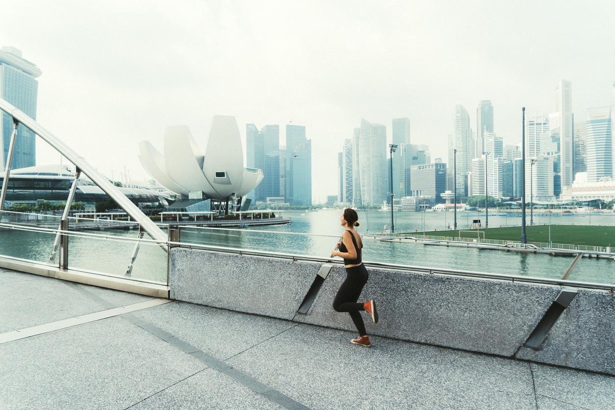 singapore city happiness jog