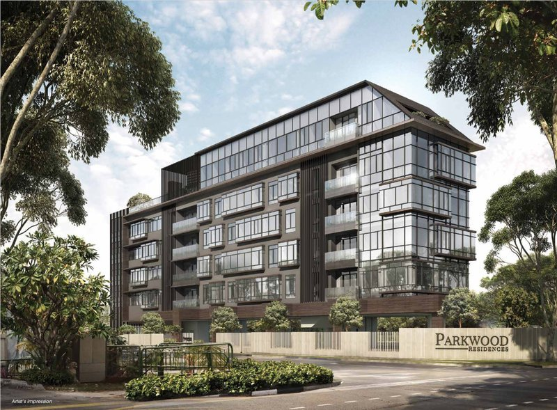 Facade of Parkwood Residences