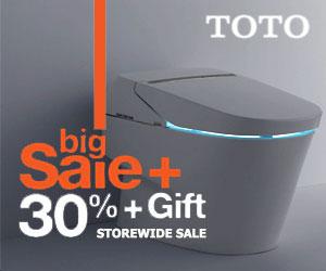 TOTO 30% Storewide Sale