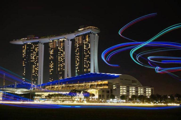 fly LED kite singapore