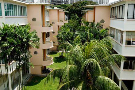 Tiong Bahru flats