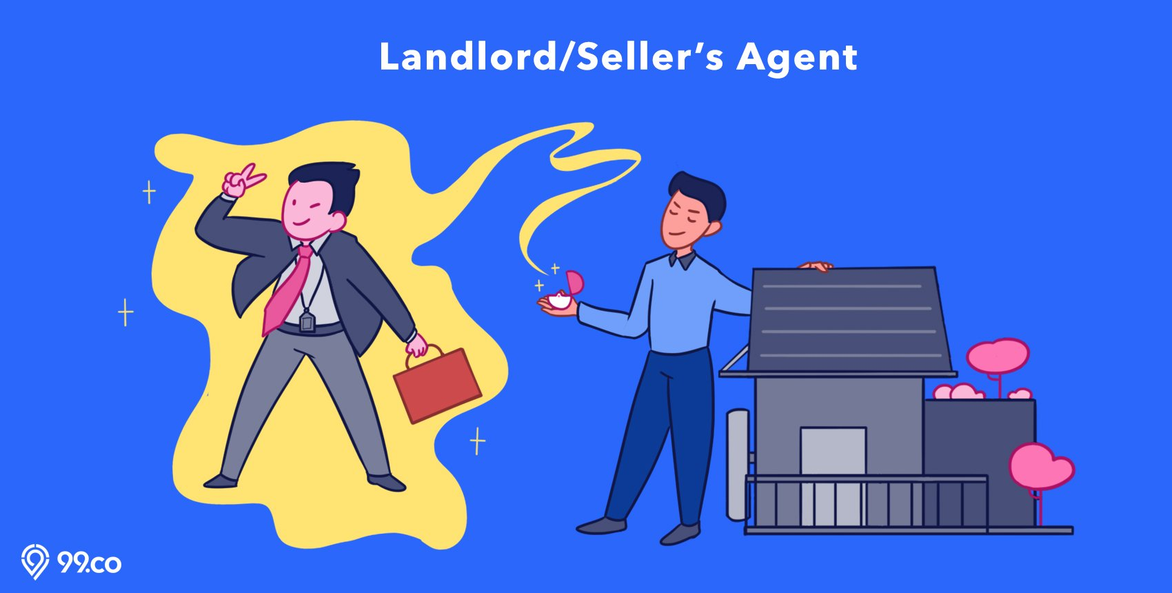 Landlord seller property agents