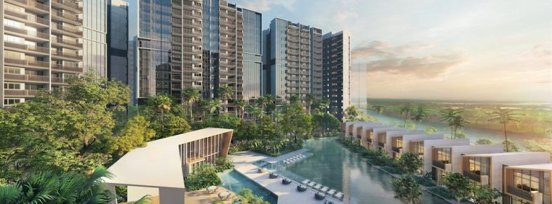 artist impression of riverfront residences central cove