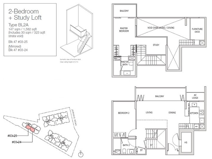 Strata Void Area Example 2