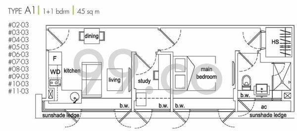 Tiny condo unit airstream floor plan