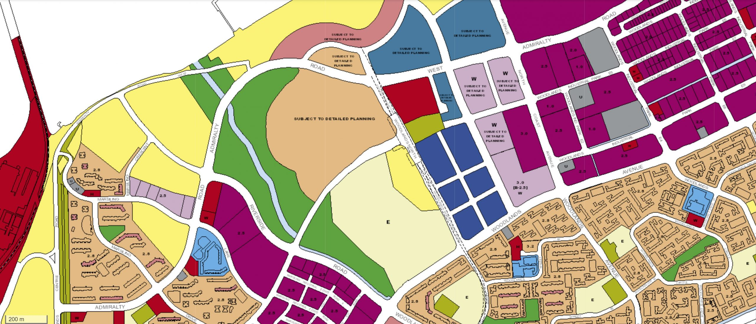 woodlands johor rts ura master plan map