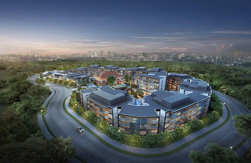 District 9 Singapore Mount Sophia Hills