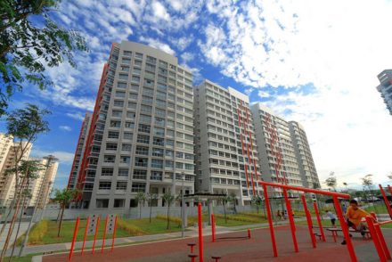 HDB BTO flat Aspella The Pinnacle