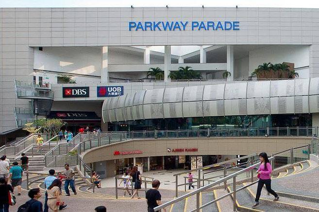 neighbourhood shopping mall parkway parade