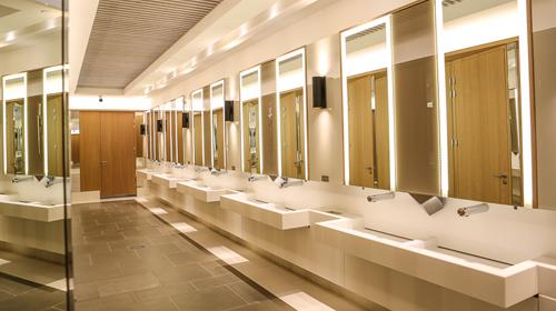 neighbourhood shopping mall washroom