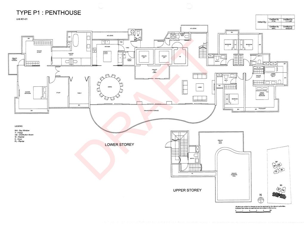 non-prime condos the meyerise penthouse floor plan