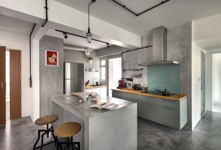 Unusual Home Buyers Singapore kitchen