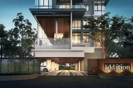 Freehold condo The Addition located at Meyappa Chettiar Road