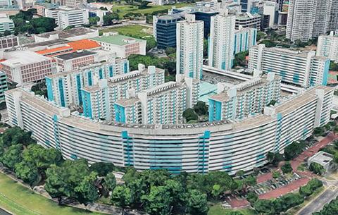 Weird HDB flats in Singapore