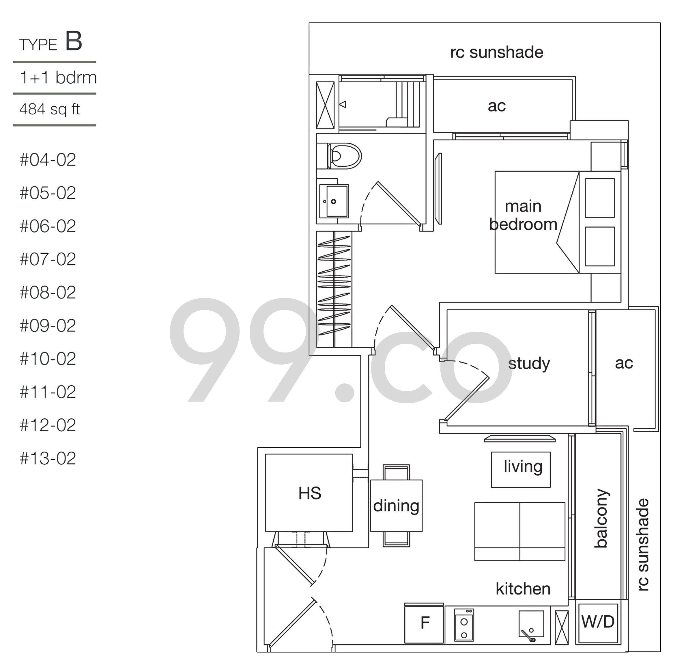leicester suites floor plan