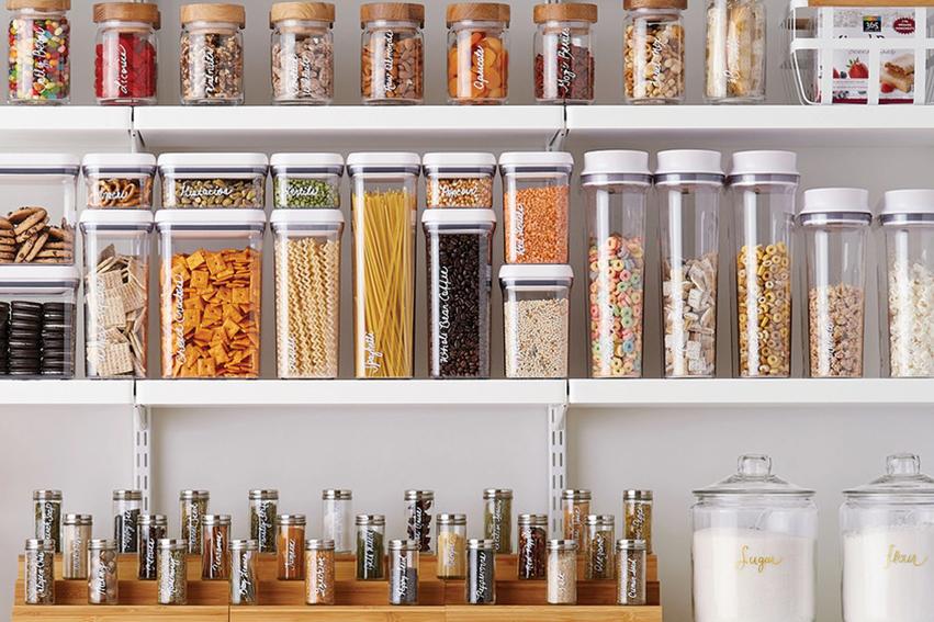 Decluttering storage organisation home