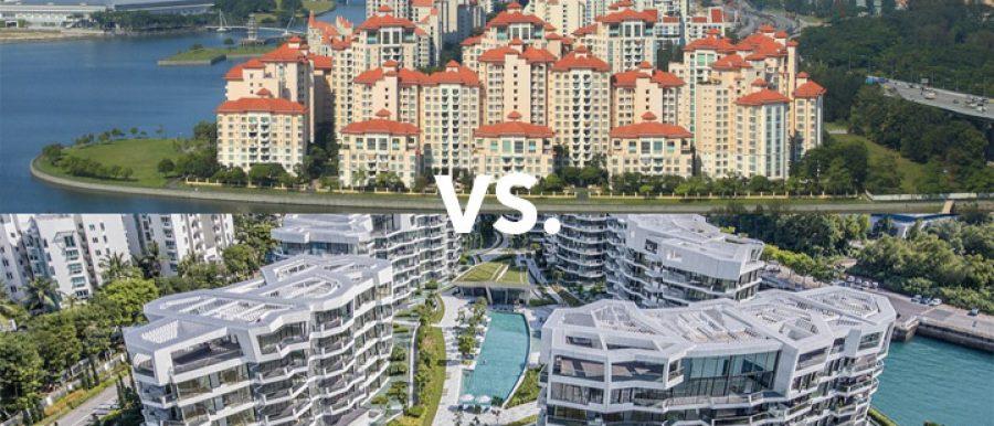 East West Coast condos Singapore property