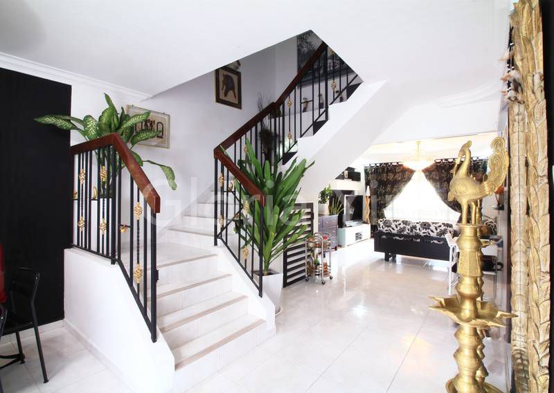 Executive maisonette Choa Chu Kang stairs