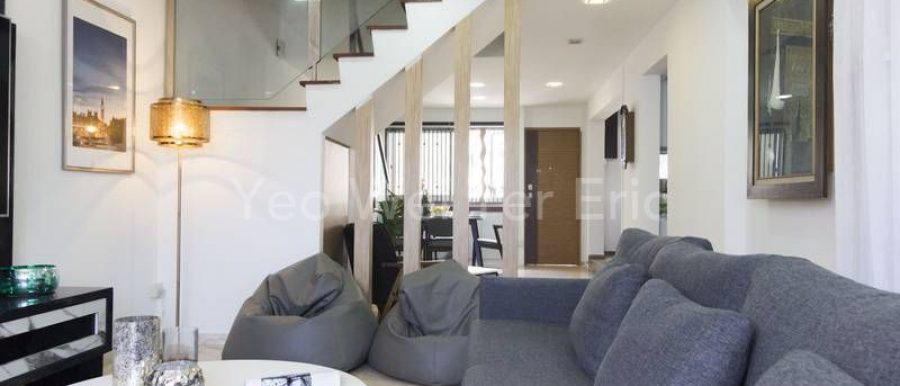 Executive maisonette HDB flat