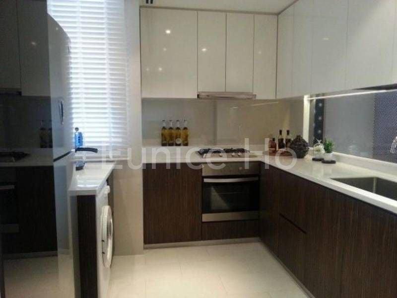 La Fiesta condo enclosed kitchen