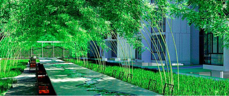 La Fiesta tea garden