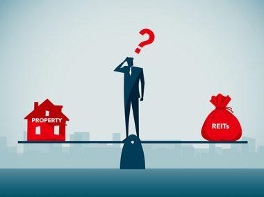 REITs vs property Singapore