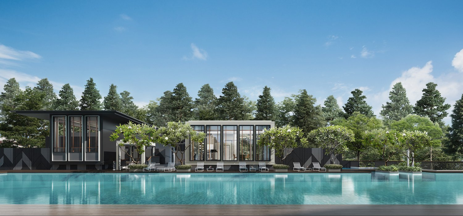 picturesque views of the pool at mayfair modern
