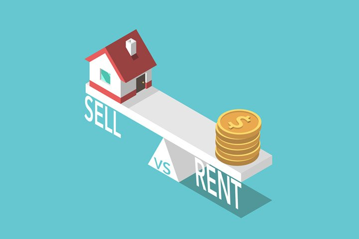 sell vs rent property Singapore