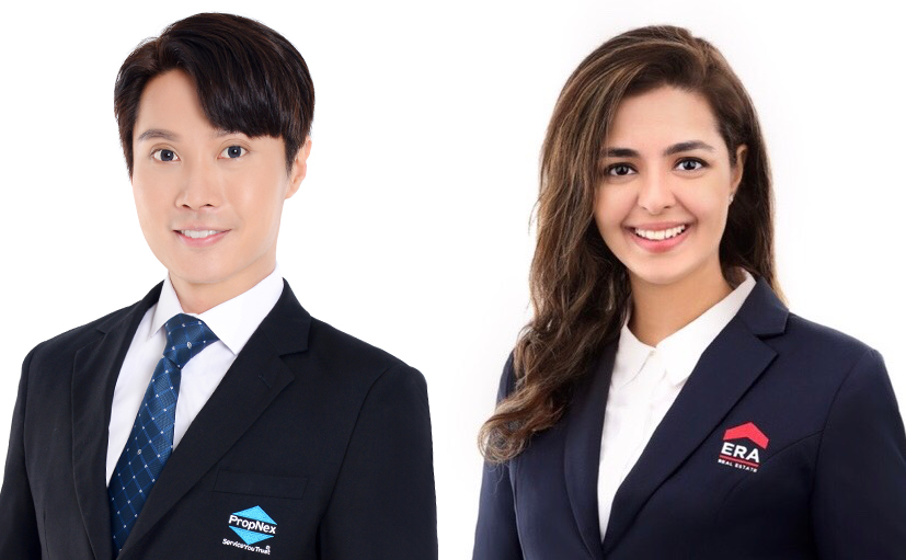property agents ivan and bhavina took part in car club's free one week trial