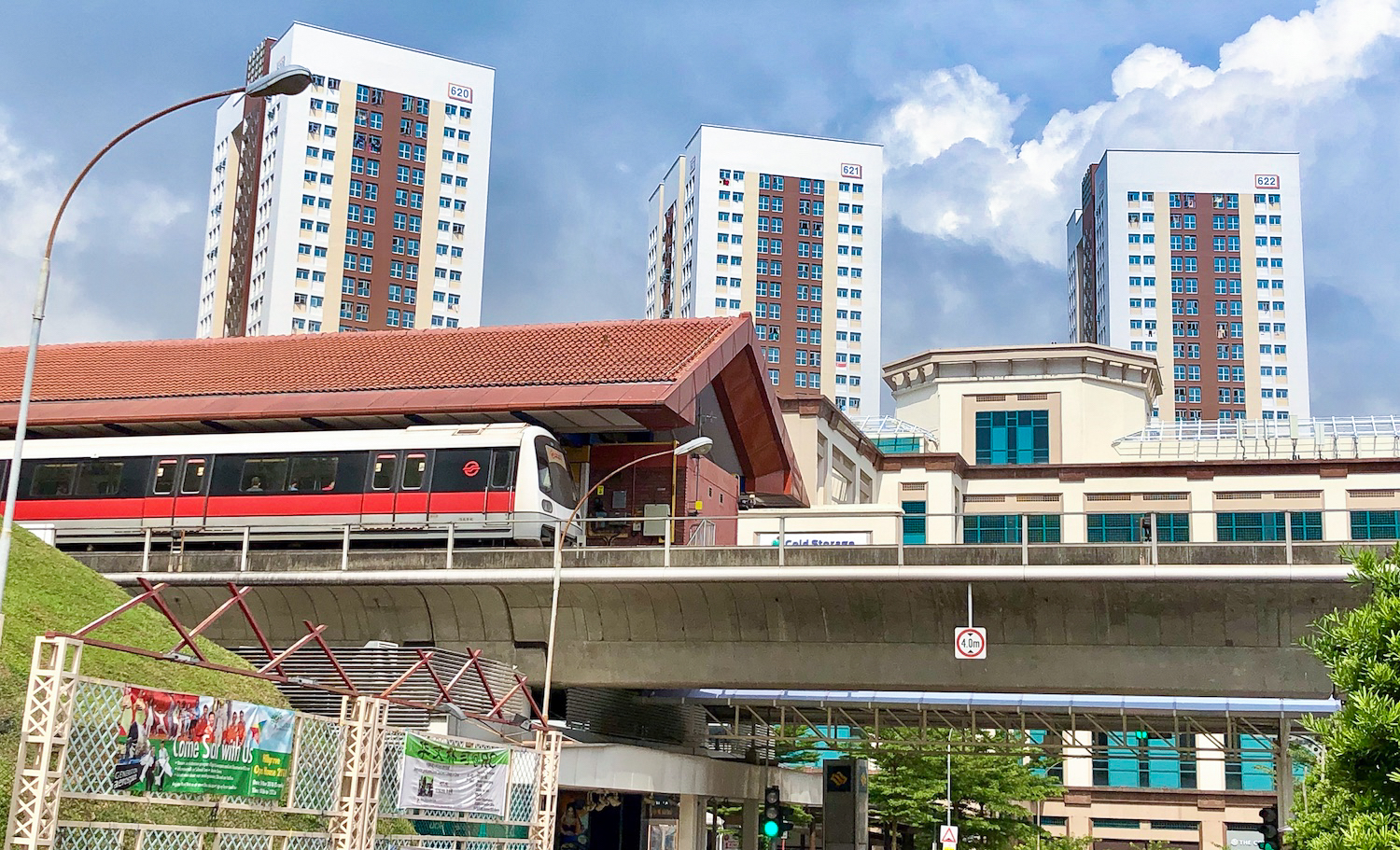 The up-and-coming Bukit Batok West station along the Jurong Region Line is just minutes away on foot from Le Quest
