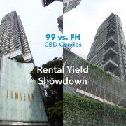CBD condos freehold 99-year rental yield