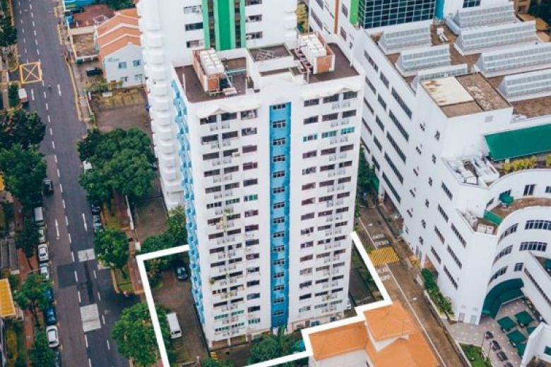 HDB lookalike condo en bloc Waterloo Apartments