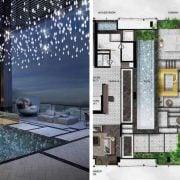 luxury property floor plan