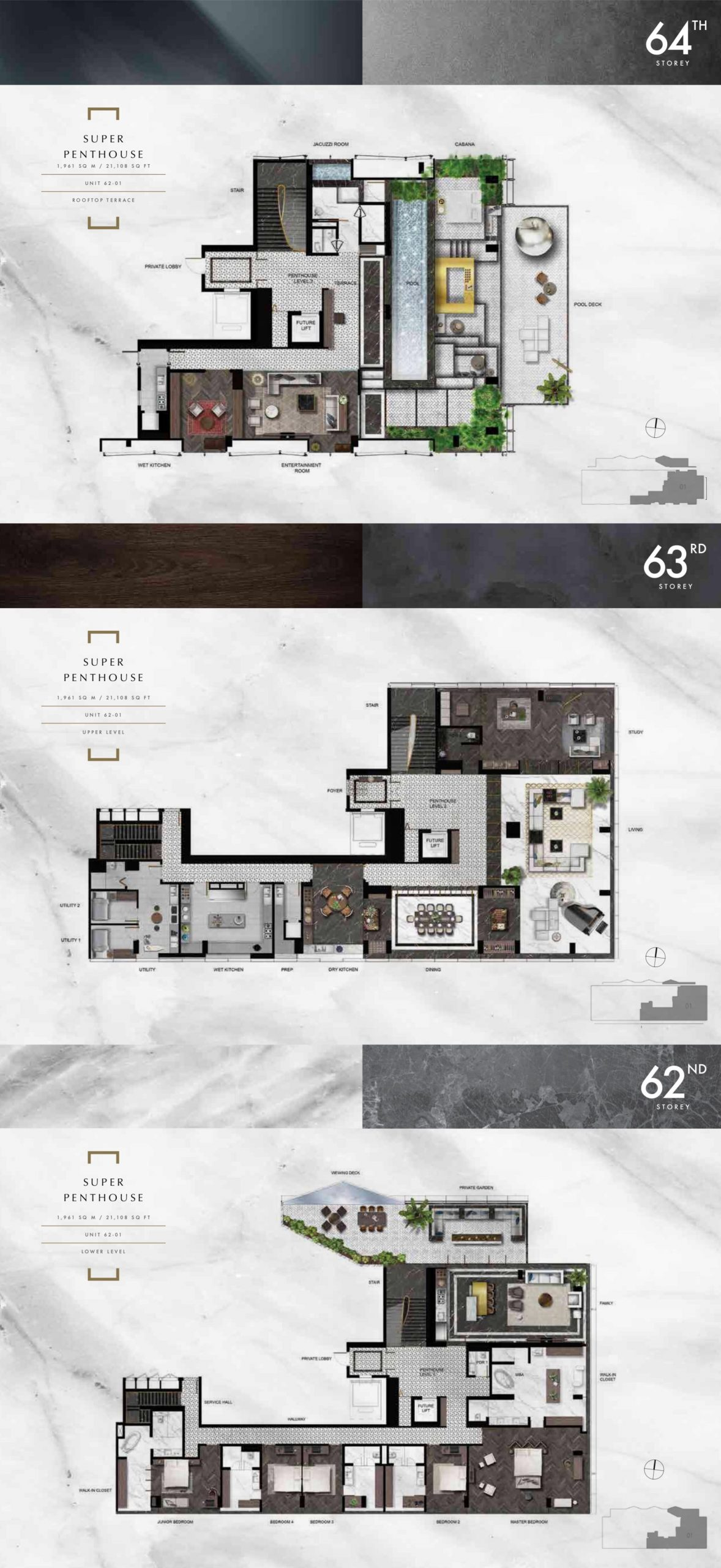 wallich residence super penthouse floor plan